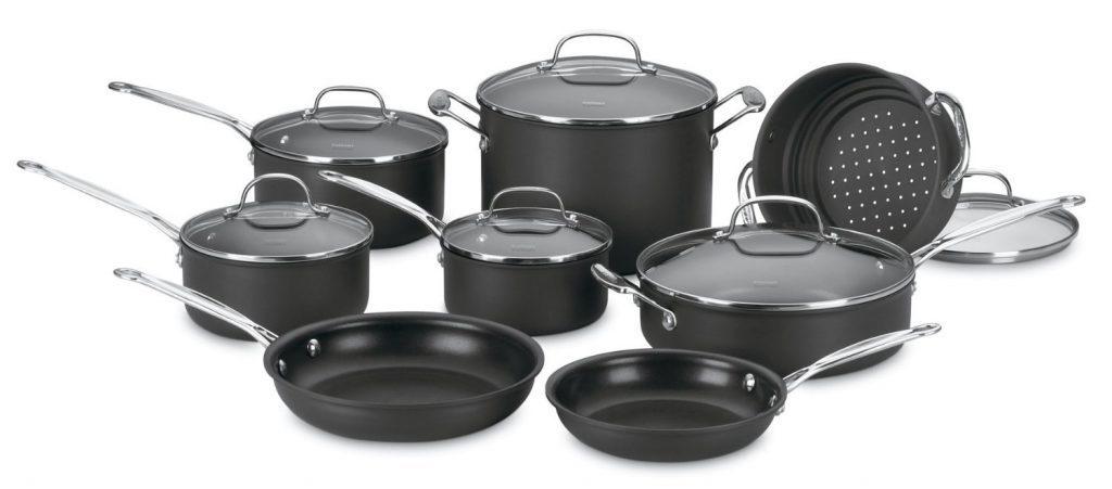 best-cuisinart-66-14-nonstick-hard-anodized-cookware-reviews